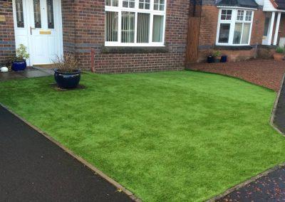 front-garden-artificial-grass-installation